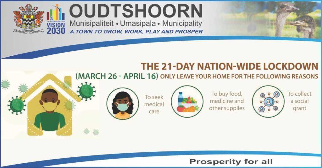 Oudtshoorn Municipality lockdown regulations